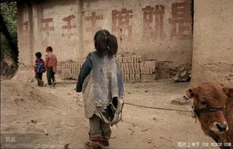 感动!贫困地区的儿童生活和学习